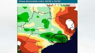 A meteorologista Josélia Pegorim comenta sobre a influência de uma frente fria e de um grande cavado na Região Sudeste e alerta para muita chuva sobre a Zona...