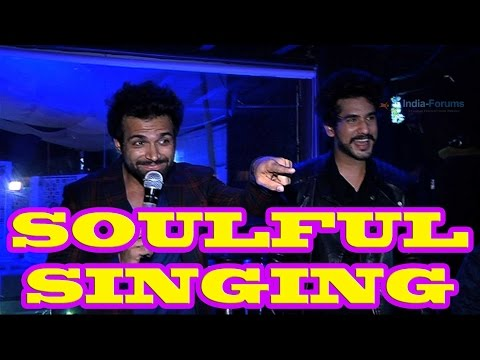Rithvik Dhanjani and Suyyash Rai's souful singing