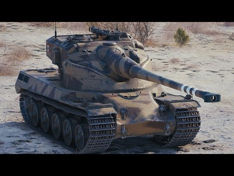 World of Tanks AMX 50 B - 4 Kills 10,1K Damage