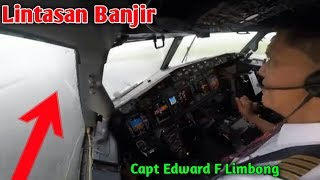 Video Live Cokpit Manado to Makassar Extreem Landing | Capt Edward F Limbong MP3, 3GP, MP4, WEBM, AVI, FLV November 2018