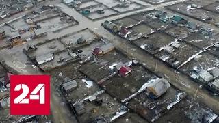 В Республику Тыва пришли сильные паводки