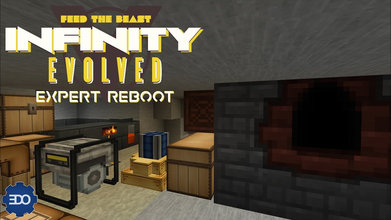 Infinity Evolved Expert Reboot | Ep 1 | Smeltery, Coke Oven & Engines!!