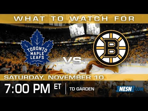 Video: Bruins vs. Maple Leafs Preview: Halak In Net With Rask On Leave