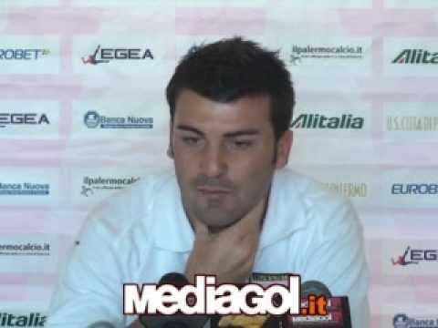 Cesare Bovo en conferencia de prensa