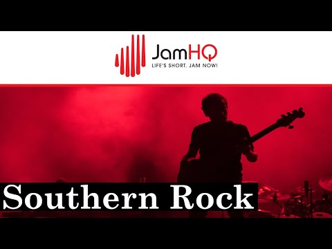 Southern Rock Guitar Jam Track in A Major – Freedom