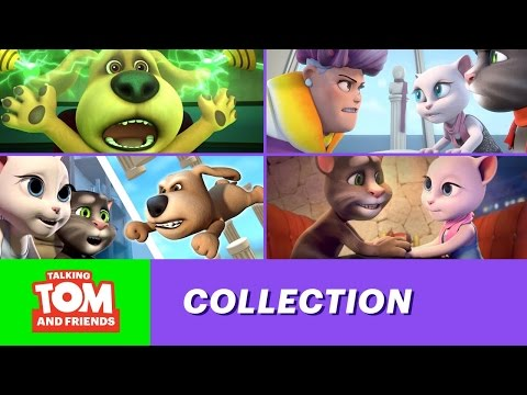 Talking tom and friends - the most embarrassing episodes of season 1 (top 4) talking tom and friends - angela 2019s