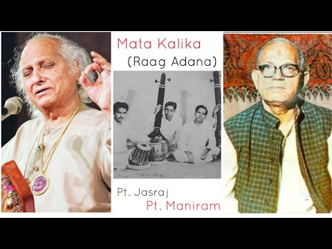 Video Mata Kalika(Raag Adana) - Pandit Maniram, Pandit Jasraj download in MP3, 3GP, MP4, WEBM, AVI, FLV January 2017