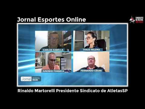 Esportes Online: Entrevista com Rinaldo Martorelli