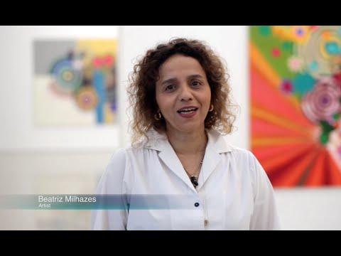Watch Beatriz Milhazes discuss her exhibition