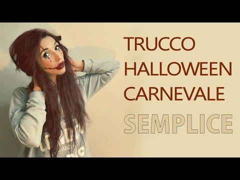 Make-Up semplice per Carnevale e Halloween