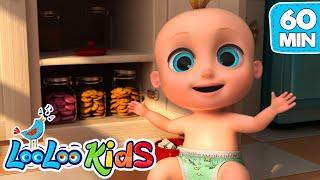 Video Johny Johny Yes Papa - THE BEST Songs for Children | LooLoo Kids MP3, 3GP, MP4, WEBM, AVI, FLV Juni 2019