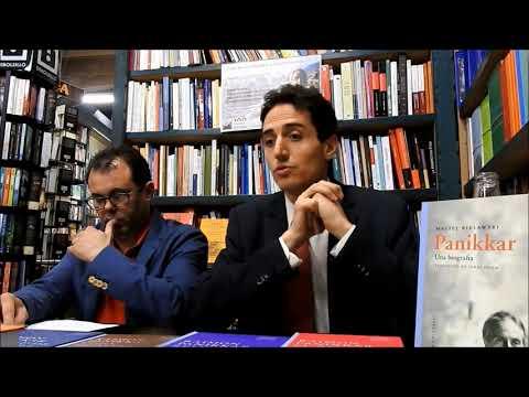 Ignasi Moreta va parlar de Raimon Panikkar a Girona
