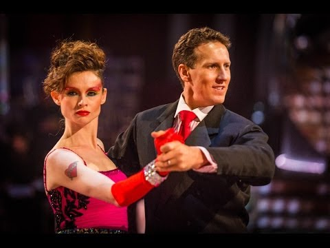 sophie - http://www.bbc.co.uk/strictly Sophie Ellis-Bexter and Brendan Cole dance the Tango to 'Material Girl'.