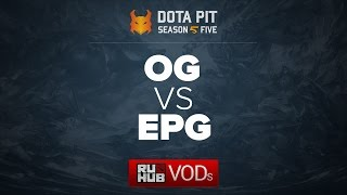 OG vs Elements Pro Gaming, Dota Pit Season 5, game 5 [Adekvat, Lex]