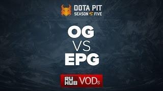 OG vs Elements Pro Gaming, Dota Pit Season 5, game 5 [Adekvat, Lex]