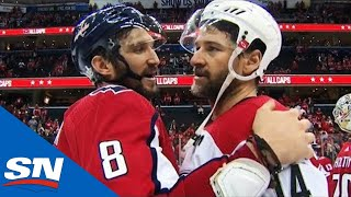 Hurricanes Send Off Stanley Cup Champion Capitals With Handshakes by Sportsnet Canada