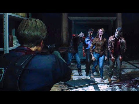 RESIDENT EVIL 2 - E3 2018 Gameplay Demo
