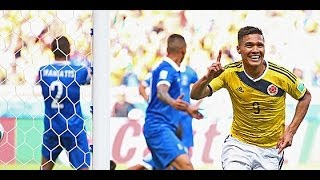 Colombia - Greece 3-0World Cup Brazil 2014 June 14th Group Cfifa14