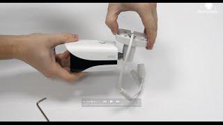 Видео. Обзор 4K видеокамеры Dahua IPC-HFW4800E.