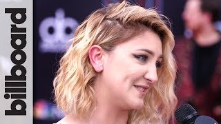 Julia Michaels Talks Upcoming Feature on Shawn Mendes's New Album   BBMAs 2018