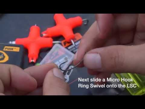 How to tie a 360 Rig for carp fishing (video)