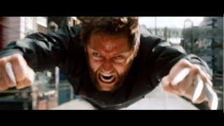 Extended Train Fight Scene - The Wolverine