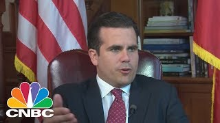 Ricardo Rossello, the Governor of Puerto Rico, talks to CNBC's Leslie Picker about the U.S. Territory's upcoming vote on statehood. Rossello talks about the ...