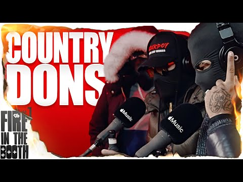 Country Dons – Fire in the Booth
