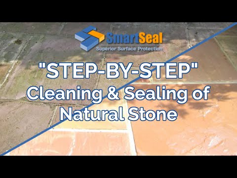 Natural Stone Cleaning, Sealing of Patios, Floors & Driveways