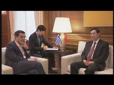 Συνάντηση  του πρωθυπουργού  με τον Liu Qibao