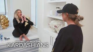 Video KUWTK | Khloé Kardashian Finds Out She's Pregnant --OMG! | E! MP3, 3GP, MP4, WEBM, AVI, FLV Juni 2018