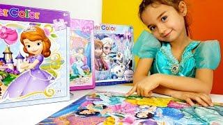 Bugün sihirli Puzzle ve Yapboz Oyunlarımız var! Disney prensesleri sever misin?! Aha, bak puzzlemiz sihirli çıktı! A! Bütün prensesleri canlandırdık! Elsa Kar Ülkesi, Prenses Sofia, Jasmin - herkes burada! Tanışmaya hazır mısın? Hadi başlayalım o zaman! En güzel kız oyunları oyna bizimle BiBaBu Oyun diyarı kanalımızda! #karülkesi #elsa #prensessofia #bibabuoyundiyarıOyun Diyarı TV eğitici ve öğretici yeni çizgi filmlere ve çocuk videolara kolaylıkla ulaşabilirsiniz. Eğlenerek  ve öğrenmek için en güzel çizgi filmler ve videolar. Bizim üyemiz olun, yeni çizgi filmleri kaçırmayın.Bizi Facebook'ta takip ediniz:https://www.facebook.com/Oyuncu-TV-511681979002646/https://www.facebook.com/bebeturktv/Vkontakte :https://vk.com/kapukikanukihttps://vk.com/bebeturk