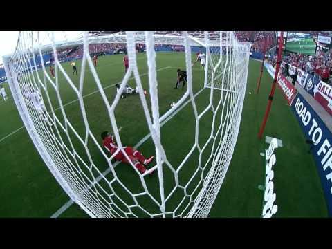 Даллас - Реал Эстели 2:1. Видеообзор матча 05.08.2016. Видео голов и опасных моментов игры