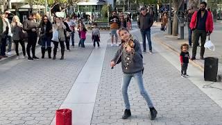 Marshmello ft. Bastille - Happier (Karolina Protsenko) - Violin Street Performance