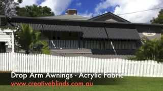 Drop Arm Awnings Fabric Casino