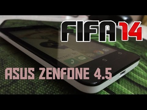 Gaming Fifa 14 on Asus Zenfone 4.5 (A450CG)