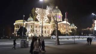 Belgrade Serbia  City pictures : Belgrade, Serbia Christmas/New Year's Decorations 2016