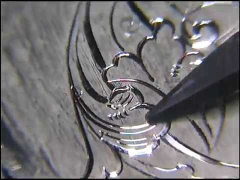 Hand Engraving (close-up)