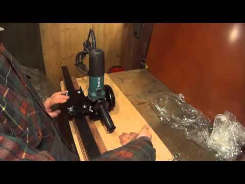 6. Как идеально ровно раскраивать болгаркой листовую сталь и другие материалы - DomaVideo.Ru