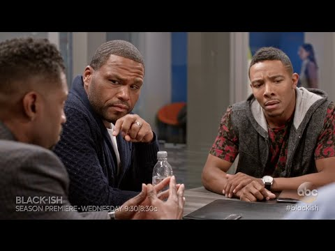 Black-ish 2.01 (Clip 'Dre Debates The Word at Work')