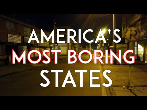 The 10 Most Boring States In America