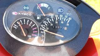 3. Kymco Super 9 lc 50cc Derestricted Top Speed