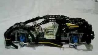 Lego Technic 8880 Supercar Time Lapse Build