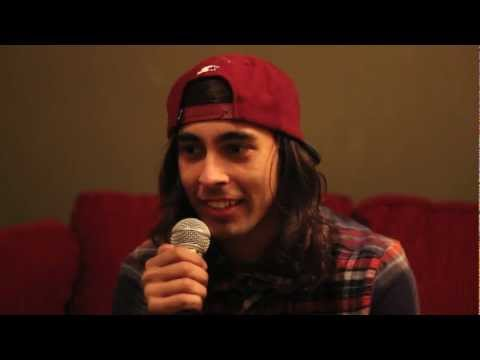 Pierce the Veil's Vic Fuentes' shares his most embarrassing moment with Substream Music Press