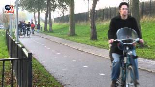 Almere Netherlands  City pictures : High Speed Cycle Path Almere, Netherlands