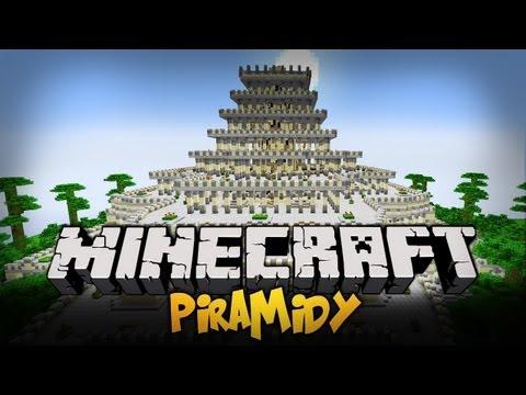 Top 10 Minecraft - Piramidy [#9] NAJDLUŻSZE SIEEEEEEEEMANO !