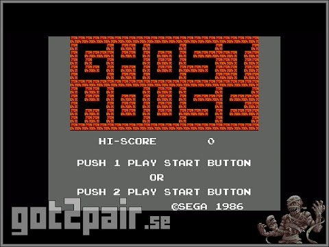 Ghost House - Master System