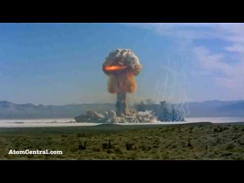Imagens de calor - Bomba Atômica
