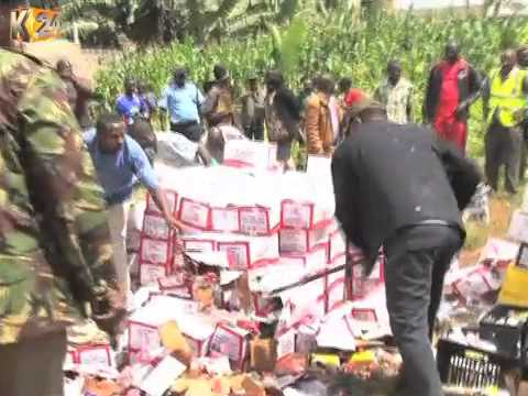 Distillery raided, closed and equipment impounded in Mathioya