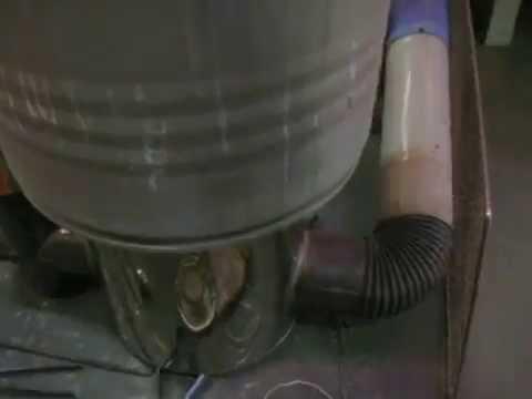 ロケットストーブ002 Rocket Mass Heater